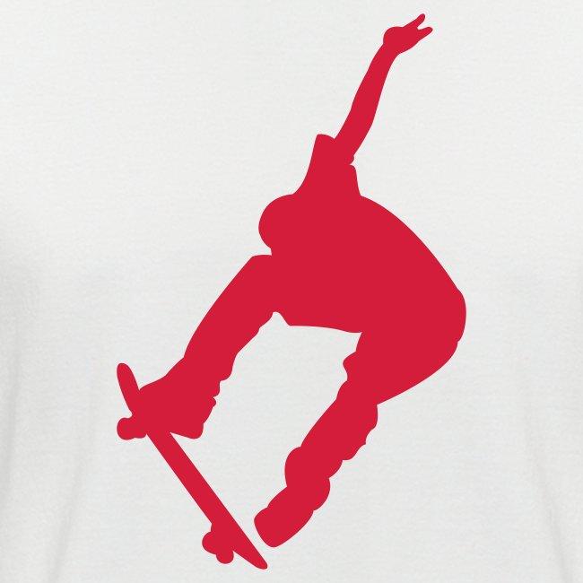 T-Shirt mit Skateboarder-Motiv