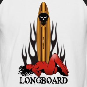 Longboard - T-shirt baseball manches courtes Homme