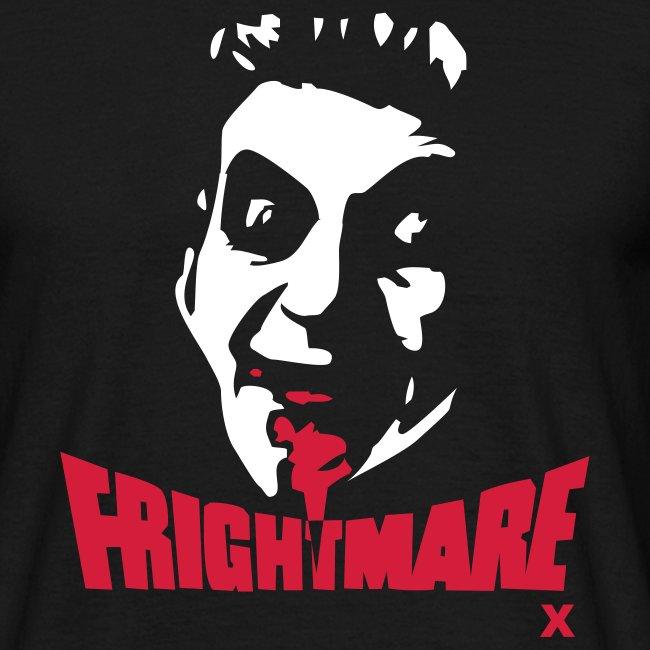 Frightmare plain black tee