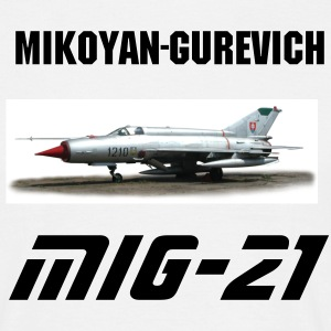 MiG-21 Fishbed - Men's T-Shirt