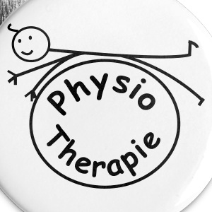 Physio / Physiotherapie Button - Buttons groß 56 mm