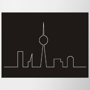 White Skyline Berlin Gifts - Mug