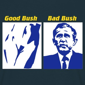 Navy Good Bush - Bad Bush T-Shirt - Männer T-Shirt