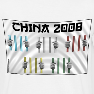 china 2008 - T-shirt Homme