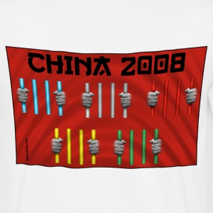 china flag - T-shirt Homme