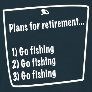 Navy Retirement Plans T-Shirts - Men's T-Shirt