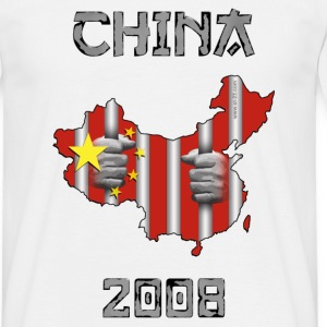 China 2008 map
