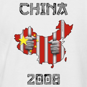 China 2008 - T-shirt baseball manches courtes Homme