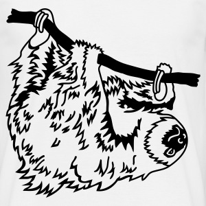 White Sloth T-Shirts - Men's T-Shirt