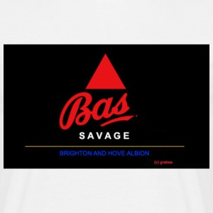 Bas Savage - Brighton - Men's T-Shirt