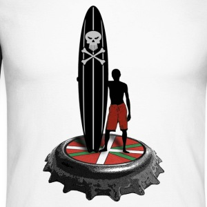 longboard surfer - T-shirt baseball manches longues Homme