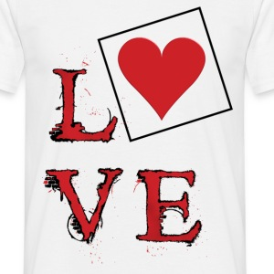 love - T-shirt Homme