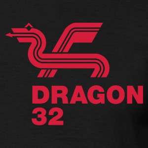Black Dragon 32 Men's T-Shirts - Men's T-Shirt