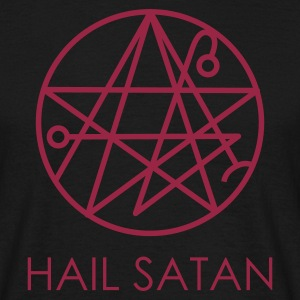 Black Hail Satan! T-Shirts - Men's T-Shirt