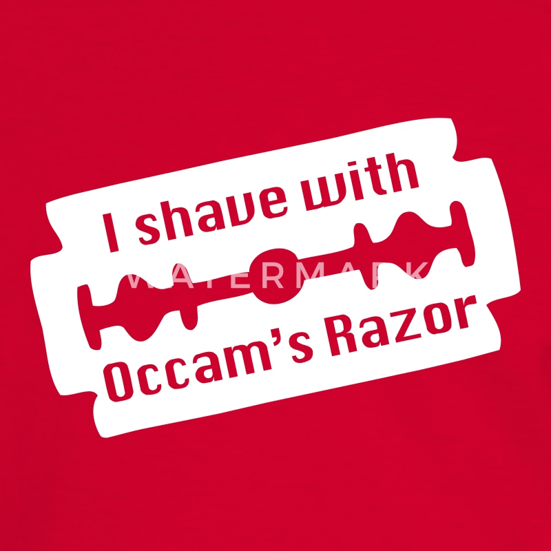 Occam's Razor - Men's Ringer Shirt
