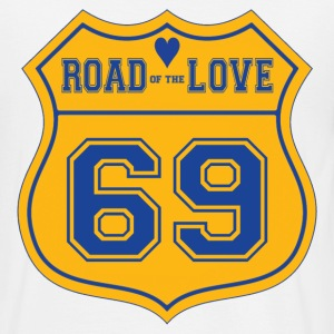 Road of the love - T-shirt Homme