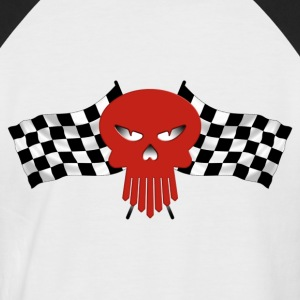Racing skull - T-shirt baseball manches courtes Homme