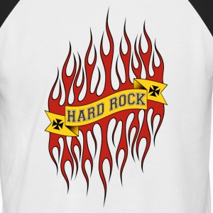 Hard Rock - T-shirt baseball manches courtes Homme