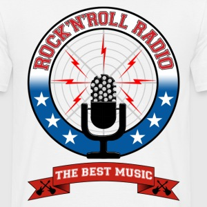 Rock'n'Roll radio - T-shirt Homme