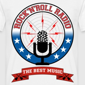 Rock 'n' Roll radio - T-shirt Homme