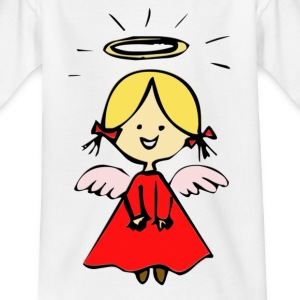 Weiß Was ein süsser Engel Kinder - Teenager T-Shirt