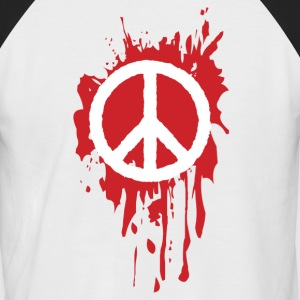 peace - T-shirt baseball manches courtes Homme