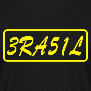 Sort Brasilien T-Shirts - Herre-T-shirt