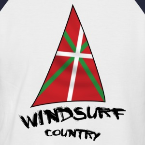 windsurfing - T-shirt baseball manches courtes Homme