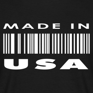 Black Made in USA T-Shirts - Men's T-Shirt