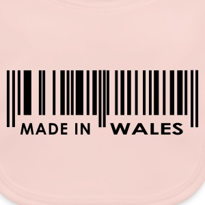 Rose Made in Wales bar code Juniors - Baby Organic Bib