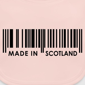 Rose Made in Scotland bar code Juniors - Baby Organic Bib