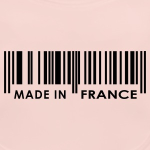 Rose Made in France code barres Enfants - Bavoir bio Bébé