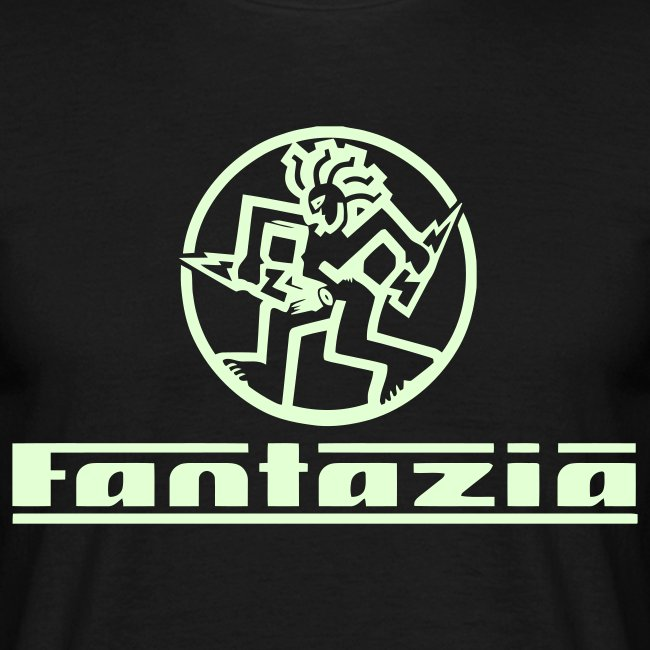 Glow in the dark Fantazia T-shirt