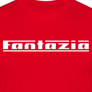 Red Fantazia Logo T-Shirts - Men's T-Shirt