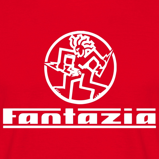 Fantazia Logo front Customisable rear