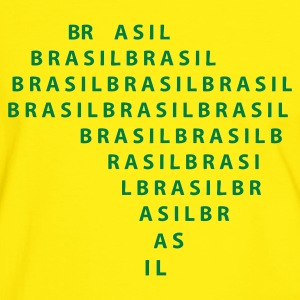 Yellow/green Brazil T-Shirts - Men's Ringer Shirt