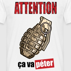 Attention grenade - T-shirt Homme
