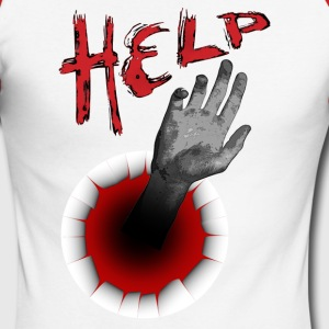 help - T-shirt baseball manches longues Homme