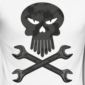 skull - T-shirt baseball manches longues Homme