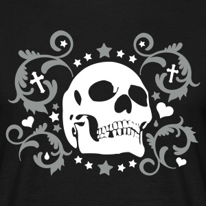 Schwarz kiss the death T-Shirt - Männer T-Shirt