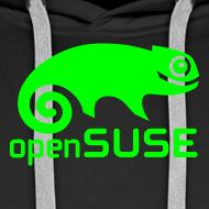 Design ~ Men's Hoodie Green Logo