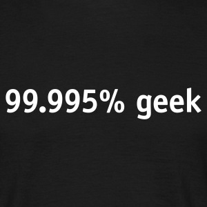 Nearly a geek - Men's T-Shirt