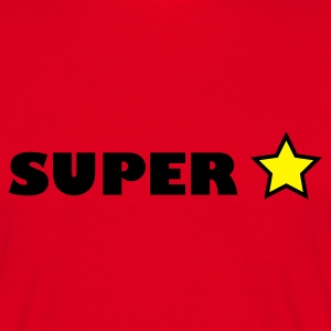 Red super star T-Shirts - Men's T-Shirt