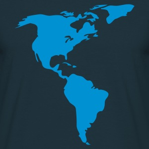 Navy Americas T-Shirts - Men's T-Shirt