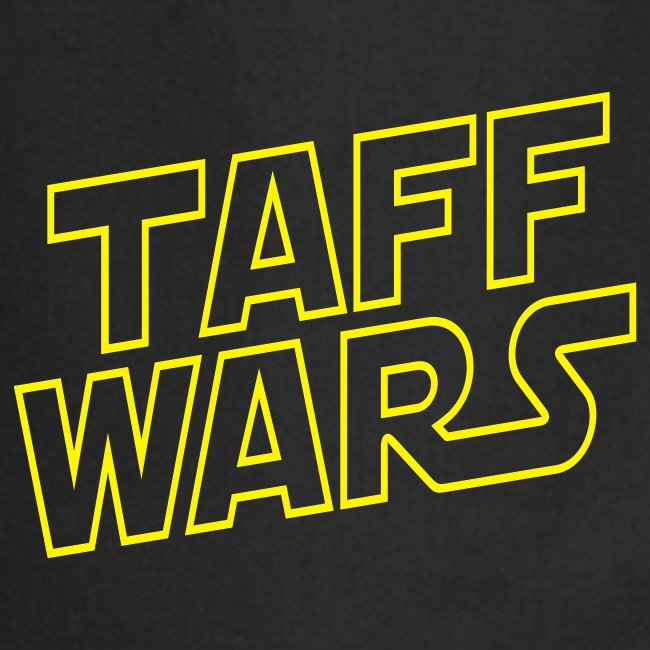 Taff Wars BLACK Cooking apron