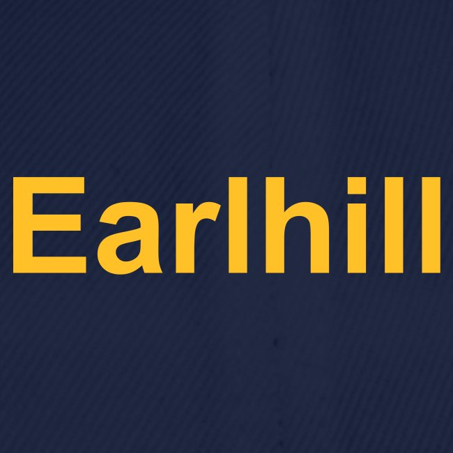 "Team Cap ""Earlhill"""