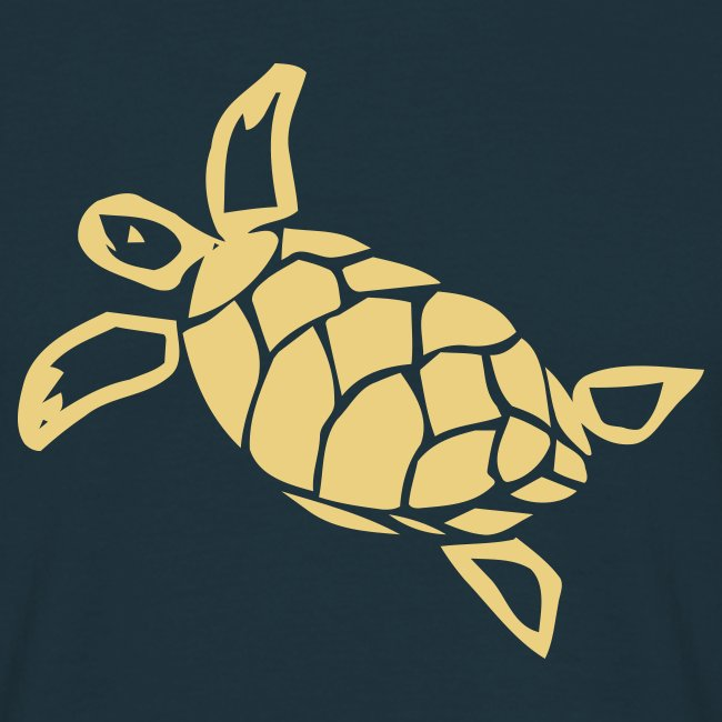 Schildkröte Turtle Blau