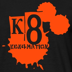 Sort kon4mation T-Shirts - Herre-T-shirt