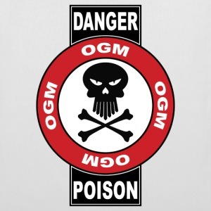 danger ogm - Tote Bag