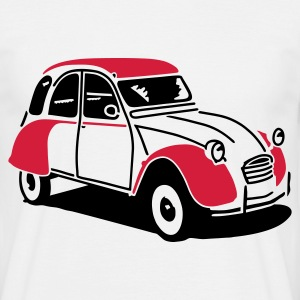 White 2cv T-Shirts - Men's T-Shirt